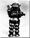 The original Robby the Robot movie costume.